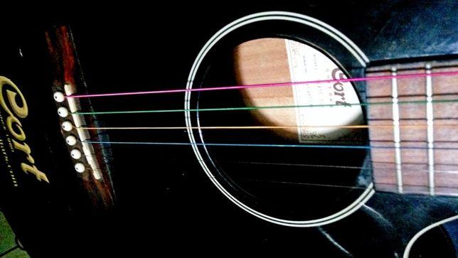 Красочные струны цветные струны для акустической гитары. Rainbow. Киев - изображение 1