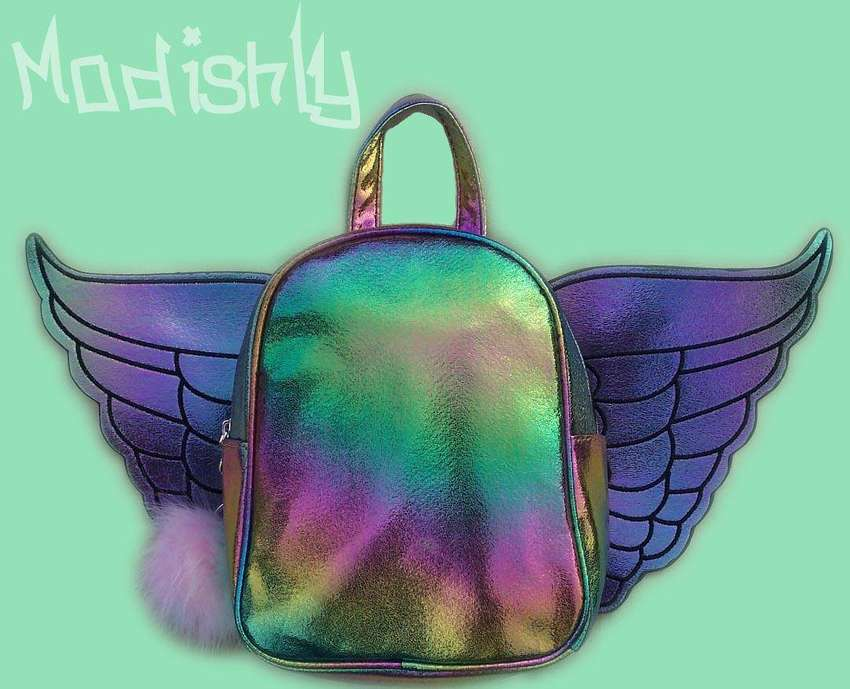 Angel Wing Backpack with Removable WIngs 0