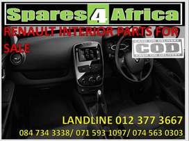 Renault interior parts available