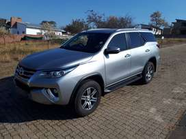 Almost brand new. Low mileage Fortuner 2.4
