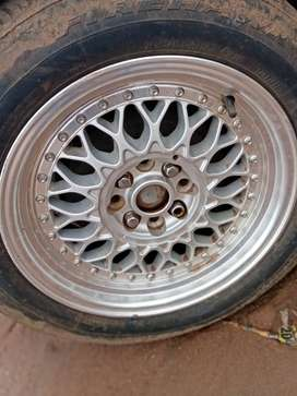 Bbs rims only 4500 with tyres 5500