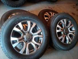 18'' Ford Ranger mags and new tyres