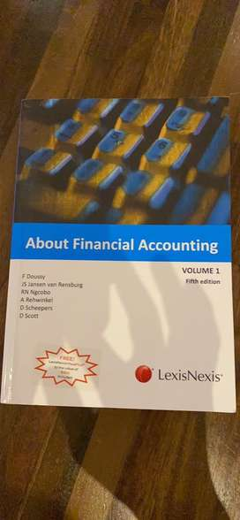 5 Ed - About Financial Accounting Volume 1