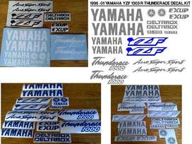 1996 YZF 1000R Thunderace decals stickers graphics kits