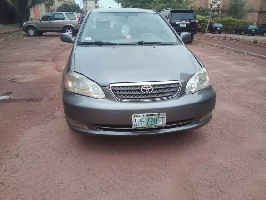 Neatly used O5 model corolla with first body for urgent sale. 0