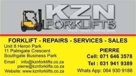 Forklift service, repairs and maintenance