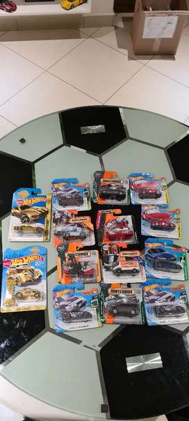 Brand new hotwheels and matchbox collectable cars