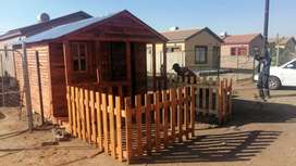 Building and installation of Wendy houses