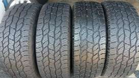 A set of tyres Cooper Discoverer AT3 sport 265/65/17 now available