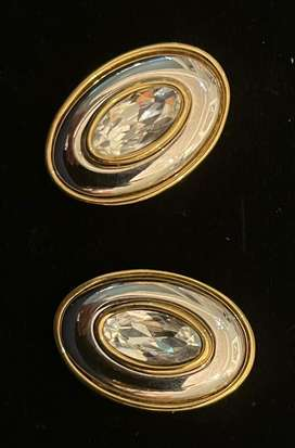 Vintage Givenchy costume jewellery earrings