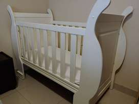 Sleigh Baby Cot