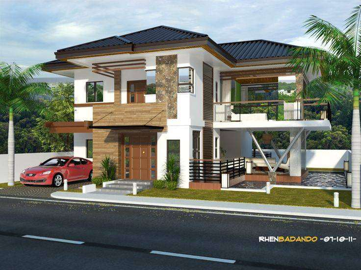 Modern house plans and architectural design 0