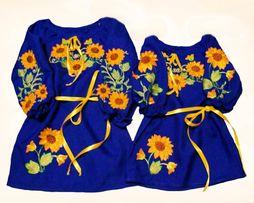 Дитяче платтє-вишиванка на 5- 6 років