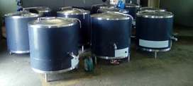 OIL JACKETED POTS,STAINLESS STEEL AND CAST IRON TILTING PANS FOR SALE