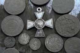 Поиск монет , металлоискатель потерянных вещей ЗОЛОТО в огороде.