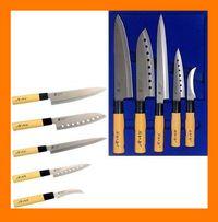 Набор суперострых японских кухонных ножей GOLDSUN 5 шт.