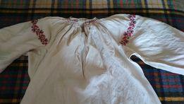 Старинные рубашки- вышиванки, льняное полотно
