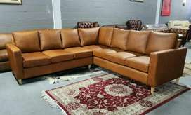 For all your Corner units in Genuine Leather