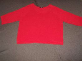 PROMOD Krótki Sweter Idealny Oversize XL 42