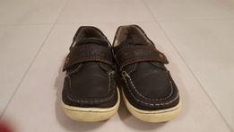 Mokasyny chłopięce, buty Lasocki Kids skora naturalna 30