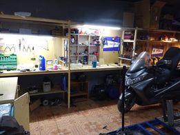 Ремонт мотоциклов, мопедов, скутеров бензоинструмента