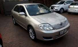 2007 Toyota  Corolla  sprinter 1.6 with leather interior