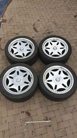 """20"""" Mags & Tyres 5/120PCD"""