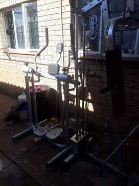 Gymset weight liffting and health walker