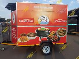 Mobile kitchen Trailer