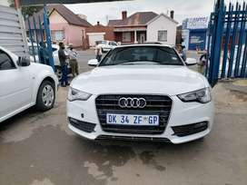 2014 Audi A5 3.0 with a leather seat and sunroof Automatic