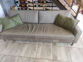 Brand new Weylands 3 seater leather couch