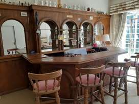 BAR with 6 chairs