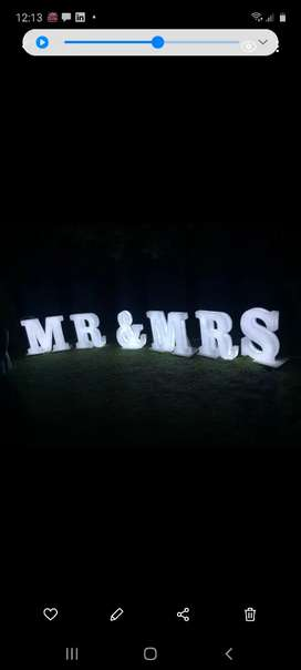 3D perspex letters for sale
