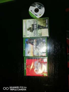 Xbox one games and 360 game