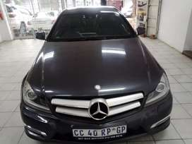 Grey Mercedes Benz  Coupe C180 AMG Auto sports