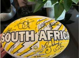 South Africa 2007 World Cup winners signed ball