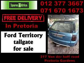 Ford Territory tailgate for sale