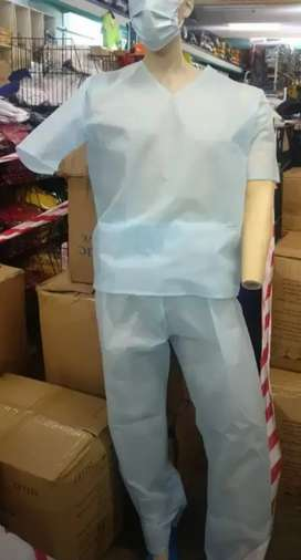 Disposable medical scrub suits
