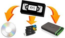 Оцифровка видеокассет. Запись на флешку или DVD диск.