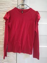 Bluzka Sinsay S czerwona