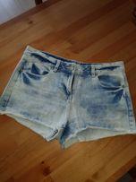 Spodenki jeans r.38