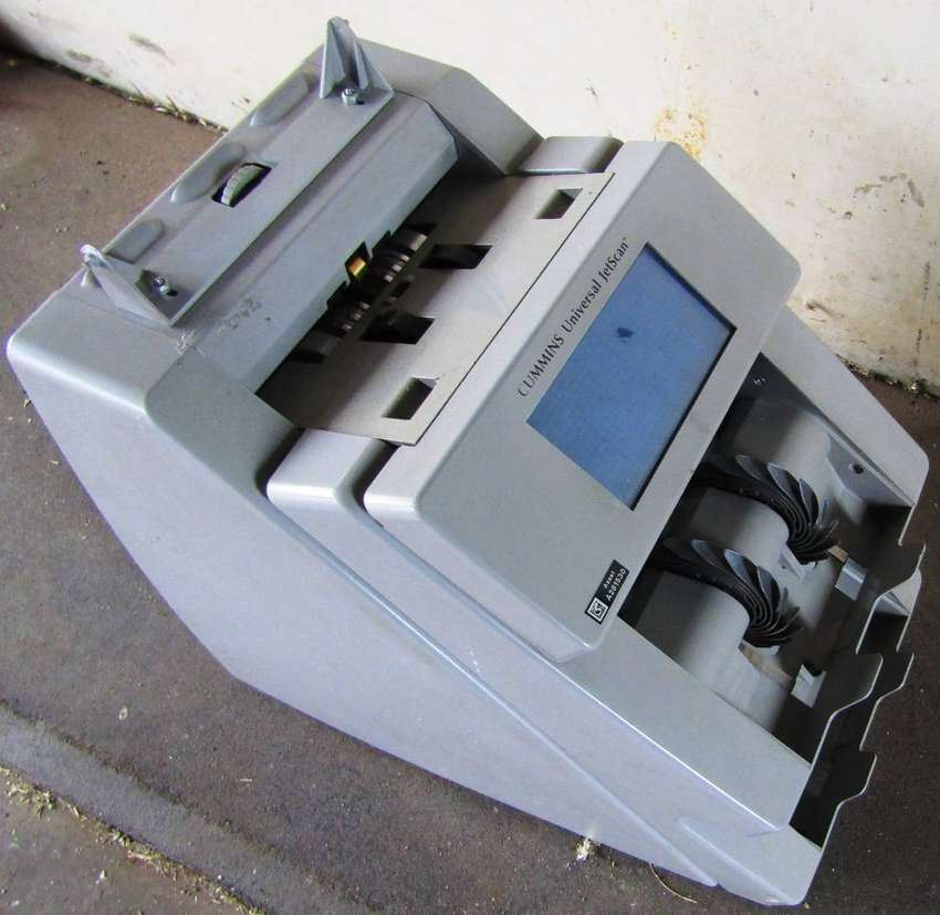 Cummins Universal JetScan 4196 Bank Note Counter - for spares only! 0