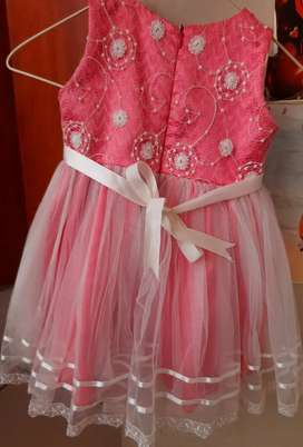 Girl kid partyware dresses for age 2 and 4
