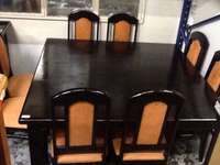 Image of Dining room table & 8 chairs & sideboard (Bhp605)