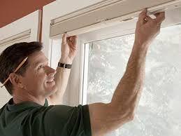 Установка и ремонт жаллюзей и рулонных штор всех систем