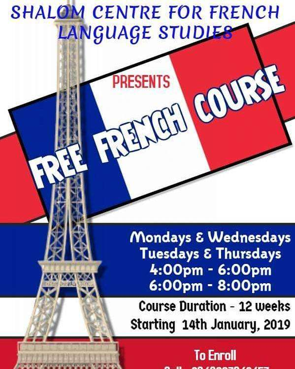 Free French Language Course 0