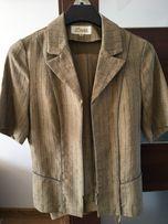 Kostium Collection Dana żakiet z krótkim rękawem spodnie