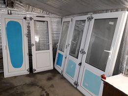двери металопластиковые(200см/80см)