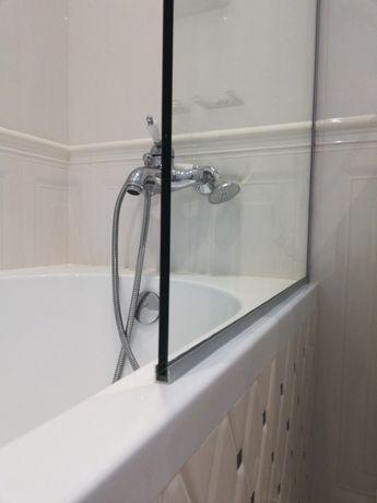 Шторка для ванной из безопасного стекла Харьков - изображение 3