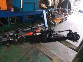 Case Front Axle for TLB